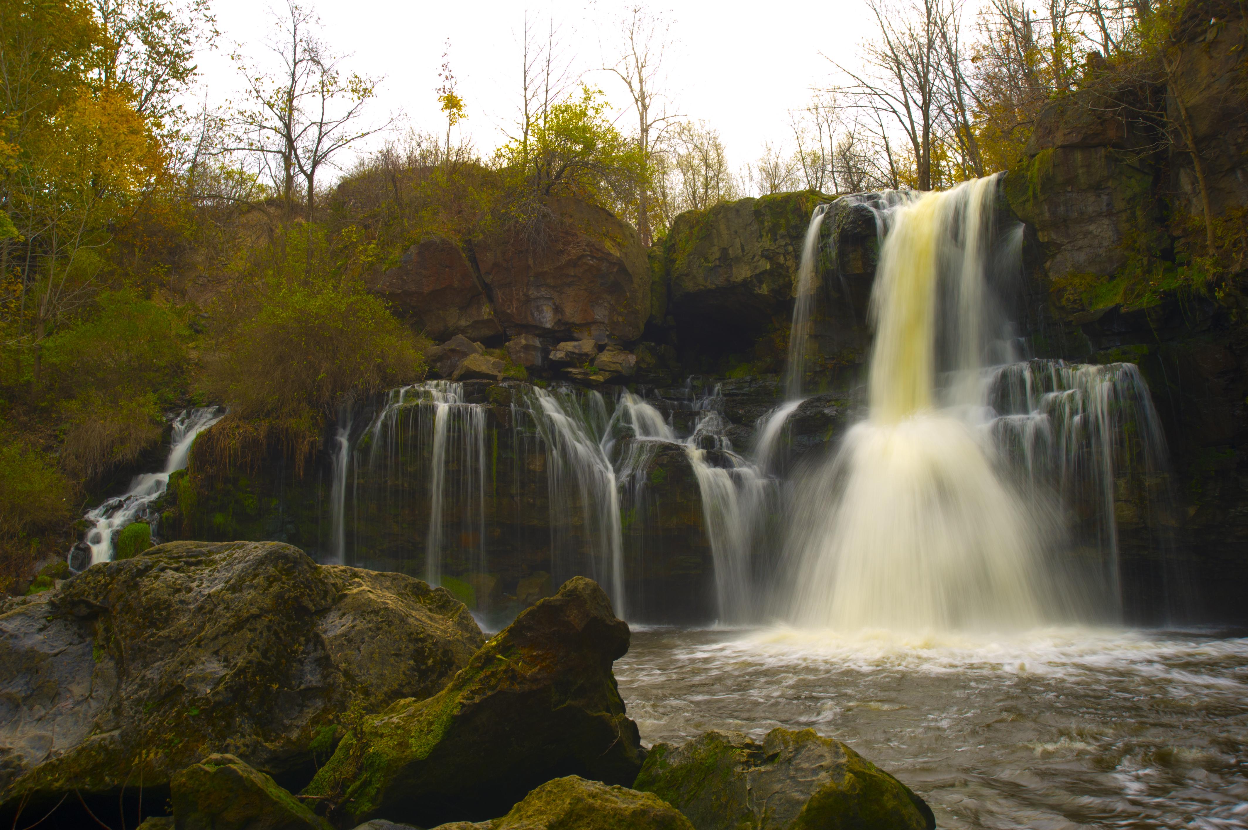 I took this image at Akron Falls outside of Buffalo NY